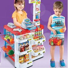 فروشگاه XIONG CHENG Supermarket Play Set، مدل 02-668