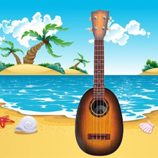 گیتار کلاسیک کودک Classic Ukulele Pineapple Shape، مدل 2-118