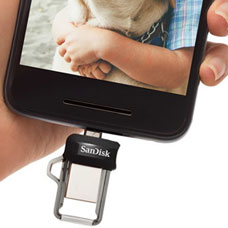 SANDISK-Ultra Dual Drive M3-SDDD3-256G-G46
