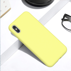 کاور Back Cover silicon case آیفون XS/X