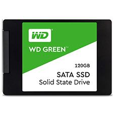 حافظه SSD اینترنال وسترن دیجیتال مدل  WD GREEN S120G2G0A ظرفیت 120GB