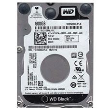 هارد دیسک اینترنال وسترن دیجیتال مدل WD Black 5000LPLX 500GB