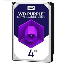 هارد دیسک اینترنال وسترن دیجیتال مدل WD PURPLE 40PURZ ظرفیت 4TB