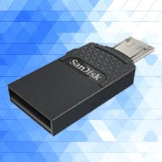 SANDISK-Dual Drive USB 2.0-SDDD1-032G-G35