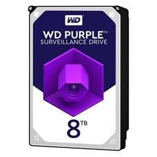 هارد دیسک اینترنال وسترن دیجیتال مدل WD PURPLE 82PURZ ظرفیت 8TB