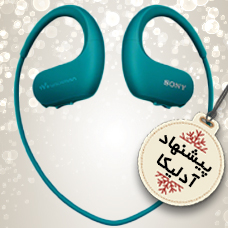 پخش کننده موسیقی SONY MP3-NWZ-WS413 + آداپتور