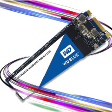 حافظه SSD وسترن دیجیتال مدل BLUE WDS500G2B0B ظرفیت 500GB