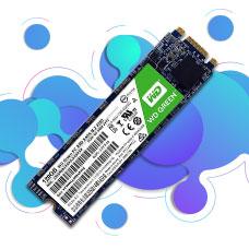 حافظه SSD وسترن دیجیتال مدل GREEN WDS120G2G0B ظرفیت 120GB